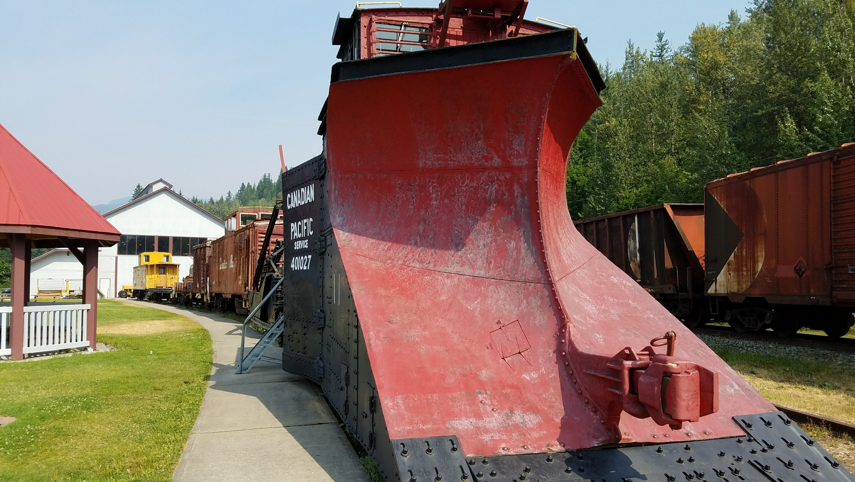 Revelstoke railway museum locomotive