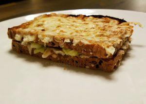 Cheese guacamole sandwich recipe