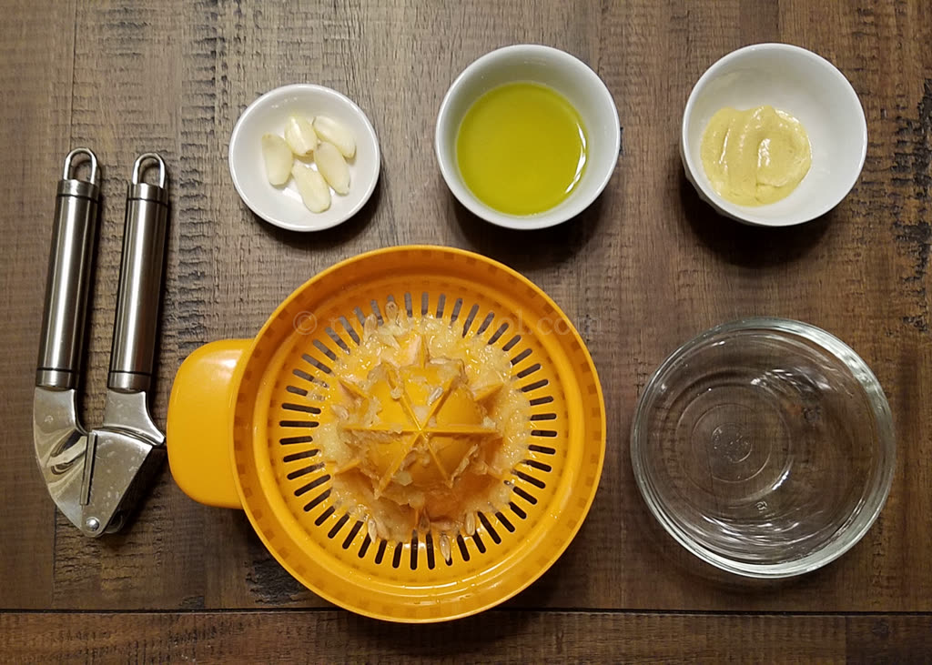 French lemon salad dressing ingredients
