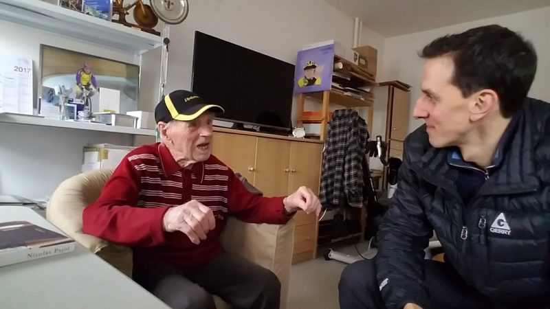 Centenarian Robert Marchand in perfect health