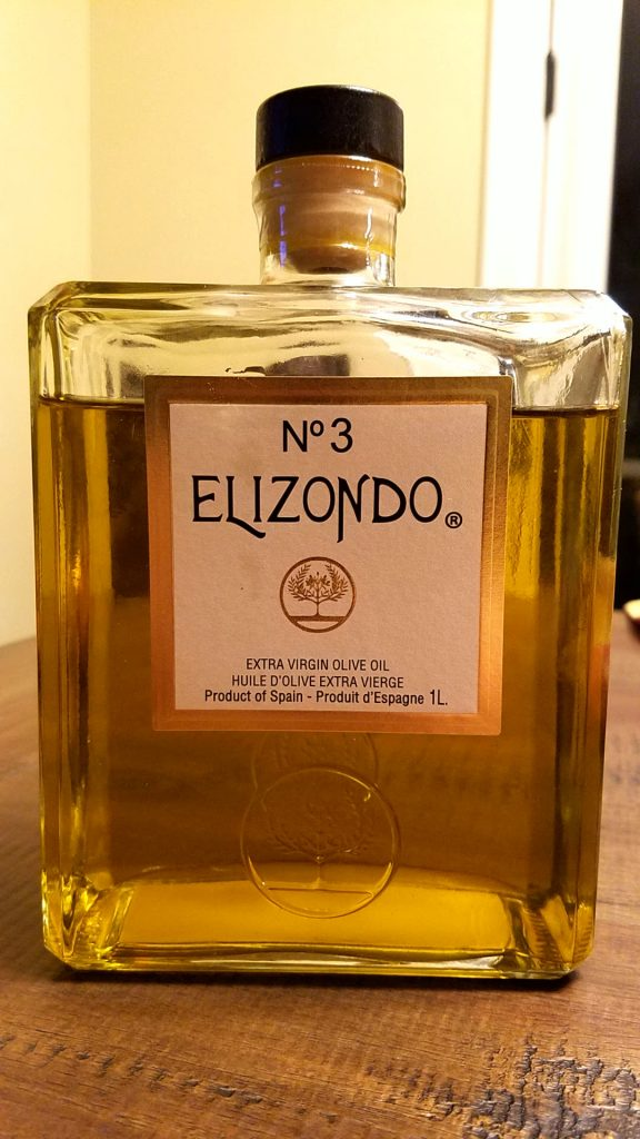 Elizondo olive oil recipe