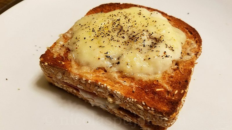 Serrano ham croque-monsieur