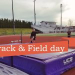 Track and field day with kids and my brother Matt