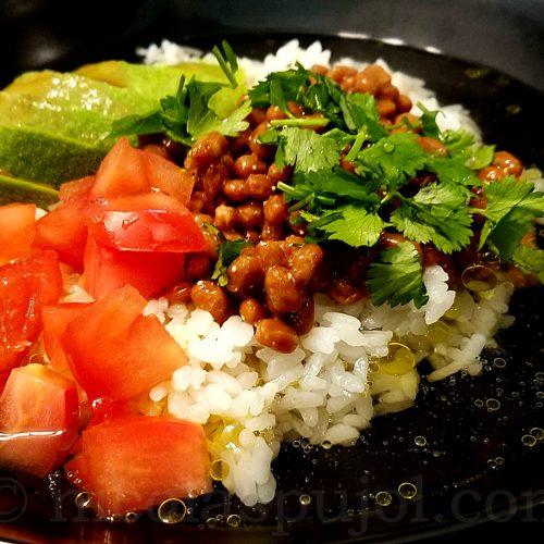 cha-cha gohan natto recipe