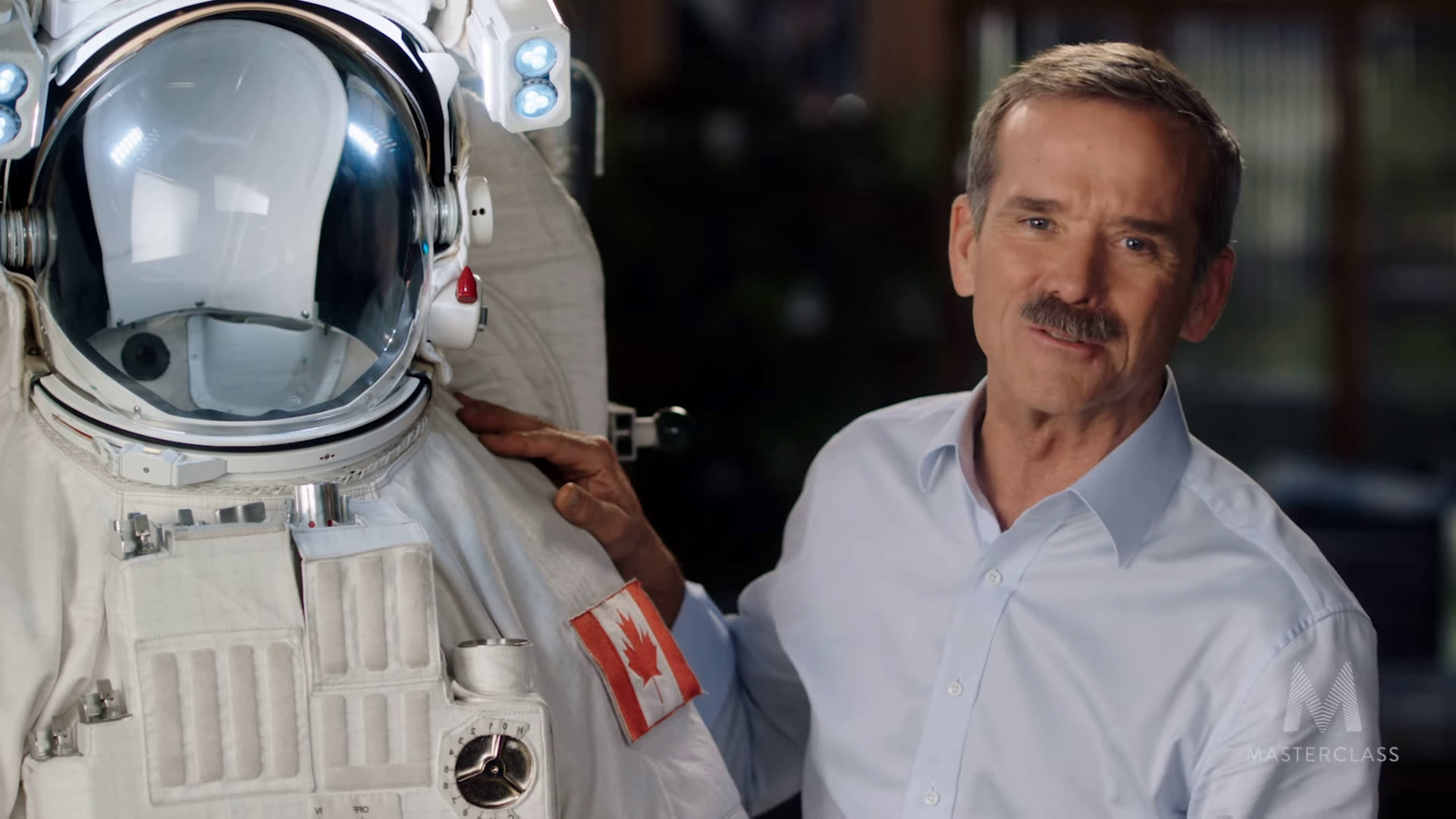 Chris Hadfield on Masterclass: The more you know the less you fear.