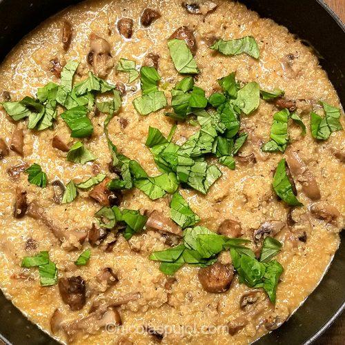 Vegan quinoasotto recipe