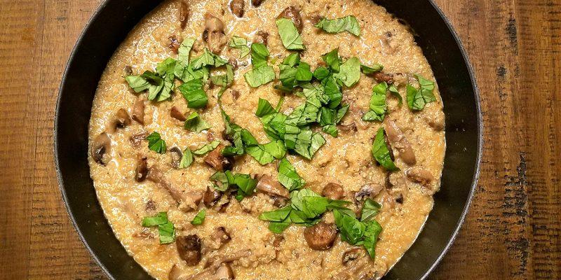 Vegan quinoasotto