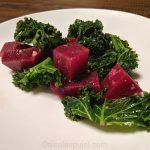Beet kale paleo vegan salad