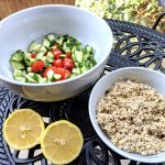 Gluten-free oats tabouli ingredients