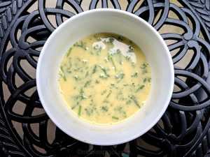 Oil-free French lemon dressing