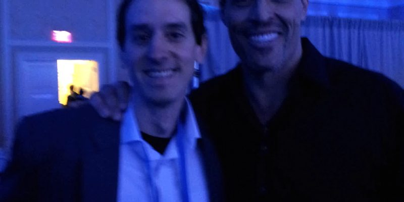 Nicolas Pujol and Tony Robbins