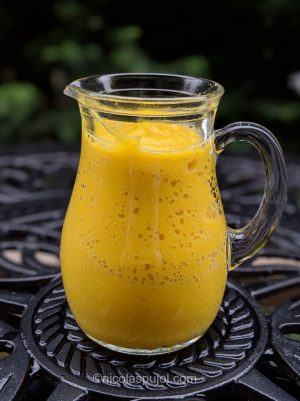 Golden beet dressing