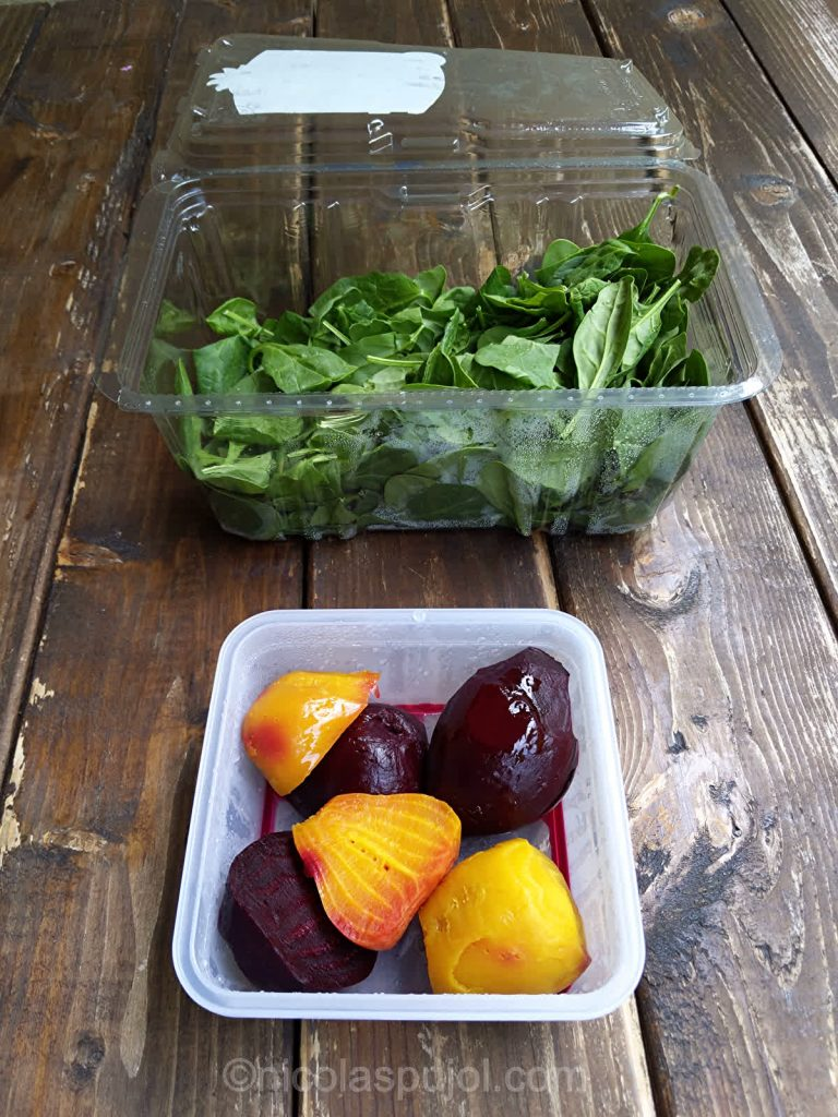 Beet and spinach for high-intensity workouts