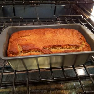 Homemade vegan gluten-free banana bread